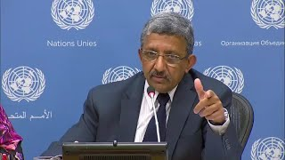 Financial situation of the United Nations - Press Conference (11 October 2019)