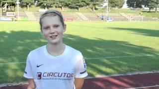 B-Juniorinnen TSV 05 Reichenbach Klara Heumann