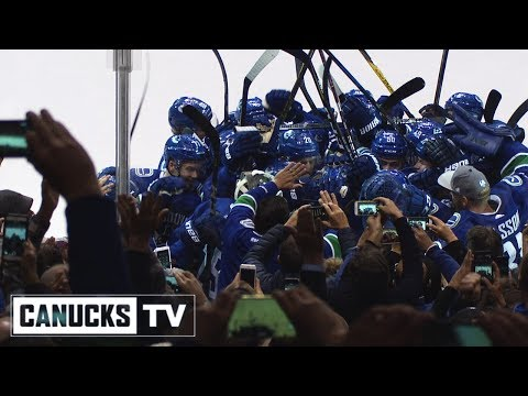 Thank You Canucks Fans!