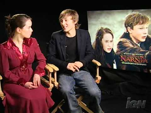 The Chronicles of Narnia - Interview with William Moseley and Anna Popplewell