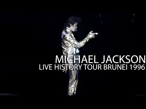 "Michael Jackson - ""Stranger In Moscow"" Medley live HIStory Tour in Brunei 1996 - Enhanced - HD"