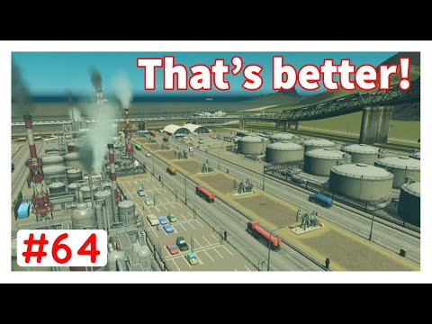 5 star Oil Industry revamp - Cities Skylines Unmodded - #64
