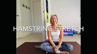 Hamstrings stretch | Yoga for posture