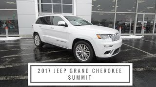 2017 Jeep Grand Cherokee Summit Features and Benefits at Anderson Jeep in Rockford