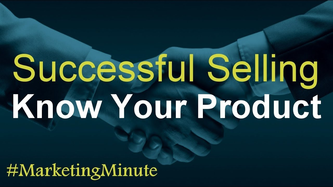 "Marketing Minute 087a: ""3 Keys For Successful Selling"