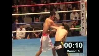 【3R】ロバート山本プロボクシングデビュー戦.