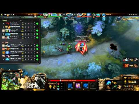 Fnatic.Dota2 Vs Cloud9 - The International 2015 Group Stage Day 2 - Caster Rocklee