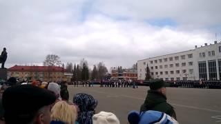 видео 9 Мая г.Мирный(Якутия) 2016 год