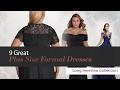 9 Great Plus Size Formal Dresses Long Hemline Collection
