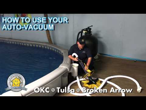 How to use your Auto Vacuum on your Swimming Pool