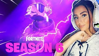 *NEW* SEASON 6 MAX 100 TIER GAMEPLAY + LUDWIG & HEIDI SKINS IN FORTNITE!!!