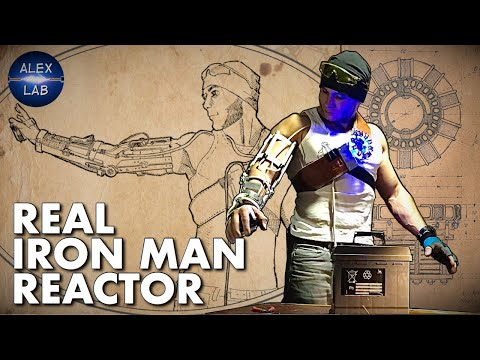 Real Reactor for Iron Man Repulsor DIY
