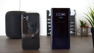 Galaxy Note 9 vs iPhone X : Lequel choisir ?