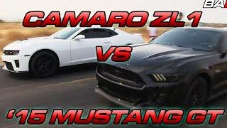 ZL1 Camaro vs
