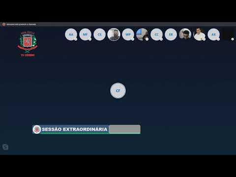 Sessão Extraordinária - (virtual) - 27/06/2020