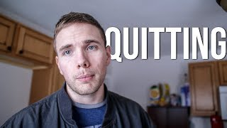 Quitting - Making it on Youtube #grindreel
