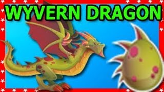WYVERN DRAGON Daily Bonus Dragon City Level Up Fast and Attaks Review