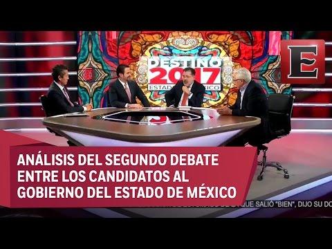 Análisis del segundo debate entre candidatos al Gobierno del Estado de México