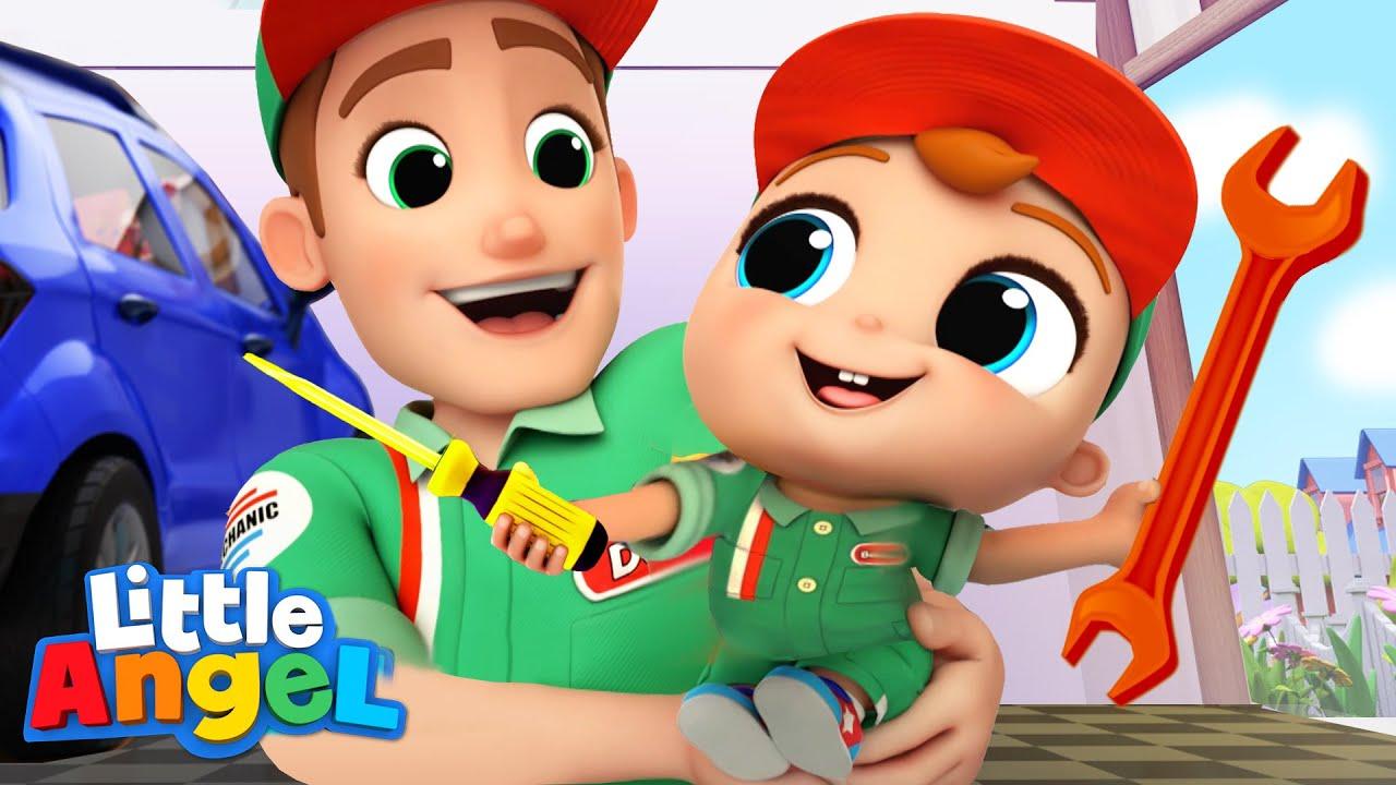 Download Daddy's Little Helper   Baby John Sing Alongs   Little Angel Kids Songs & Nursery Rhymes