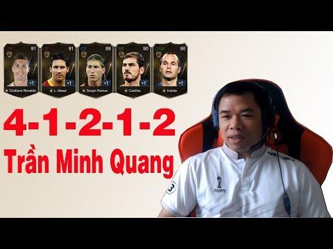 Kênh LTT | Review 4-1-2-1-2 Trần Minh Quang - FIFA Online 3 Việt Nam
