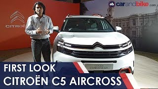 Citroën C5 Aircross First Look | NDTV carandbike