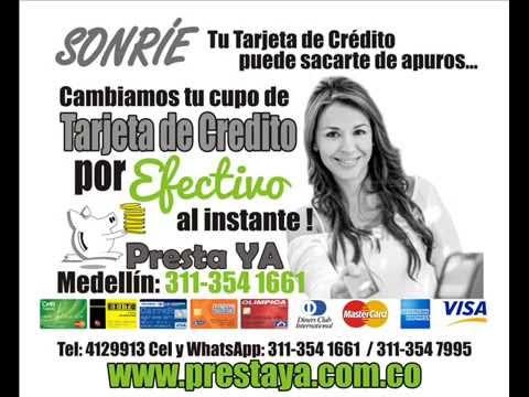 Dinero a Interes Medellin, Cambio Cupo Tarjeta de Credito por efectivo - prestamos en motos y carros de YouTube · Duración:  1 minutos 26 segundos