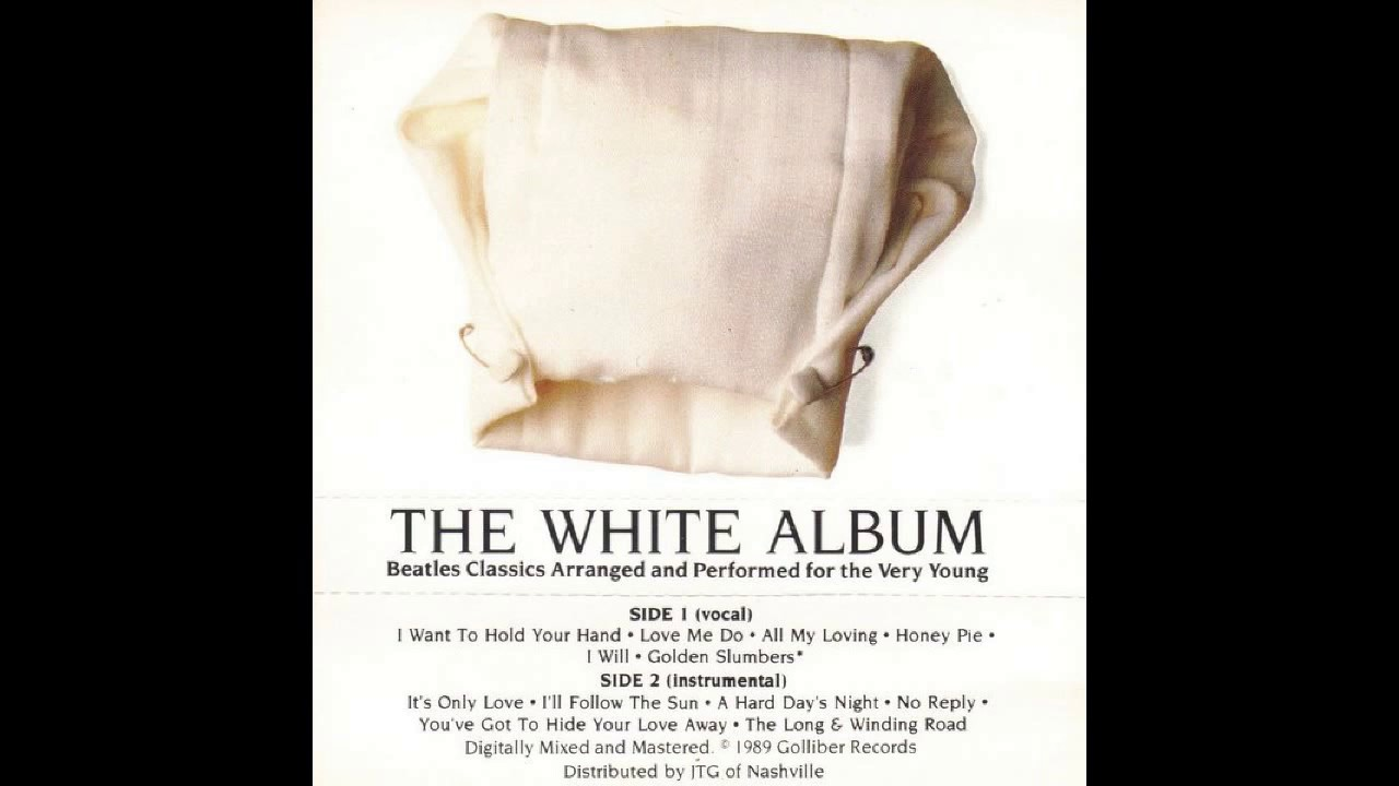 The White Album - Beatles for the very young - Full Album Cassette Rip 1989