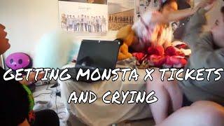 BUYING MONSTA X TICKETS || HIGHKEY STILL CRYING