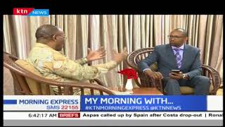 Governor Fransis Kimemia: there are several lessons that we have learnt | MY MORNING WITH...