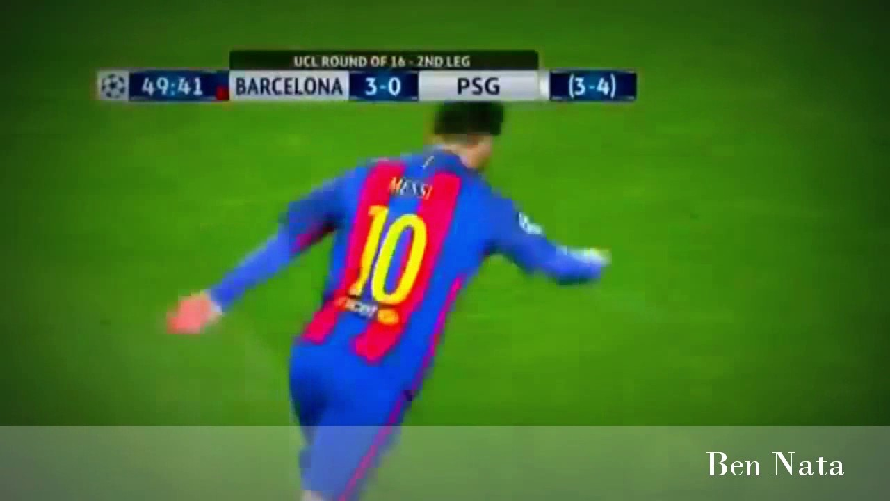 Barca VS PSG 6-1 Higlights Camp Nou Champion League - YouTube