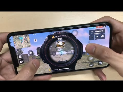 IPhone 11 Pro Max Test Game Free Fire || Apple A13 Bionic Ram 4GB