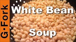 White Bean Soup With Kale Recipe - Gardenfork.tv