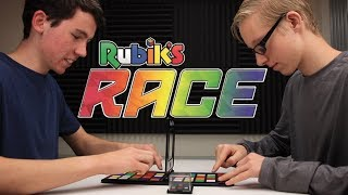 "Playing the ""Rubik's Race"" Board Game!"