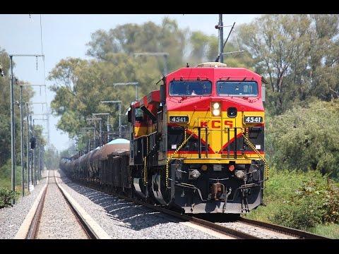 Trenes a alta velocidad de KCSM en Querétaro (Parte 2 - FINAL)
