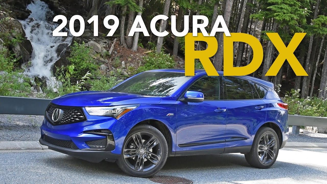 2019 Acura Rdx Review Craig Cole Makes Some Puns Youtube