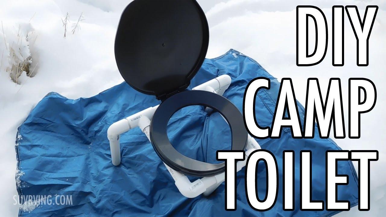 Compact Diy Portable Camp Toilet A Cheap Easy Camping