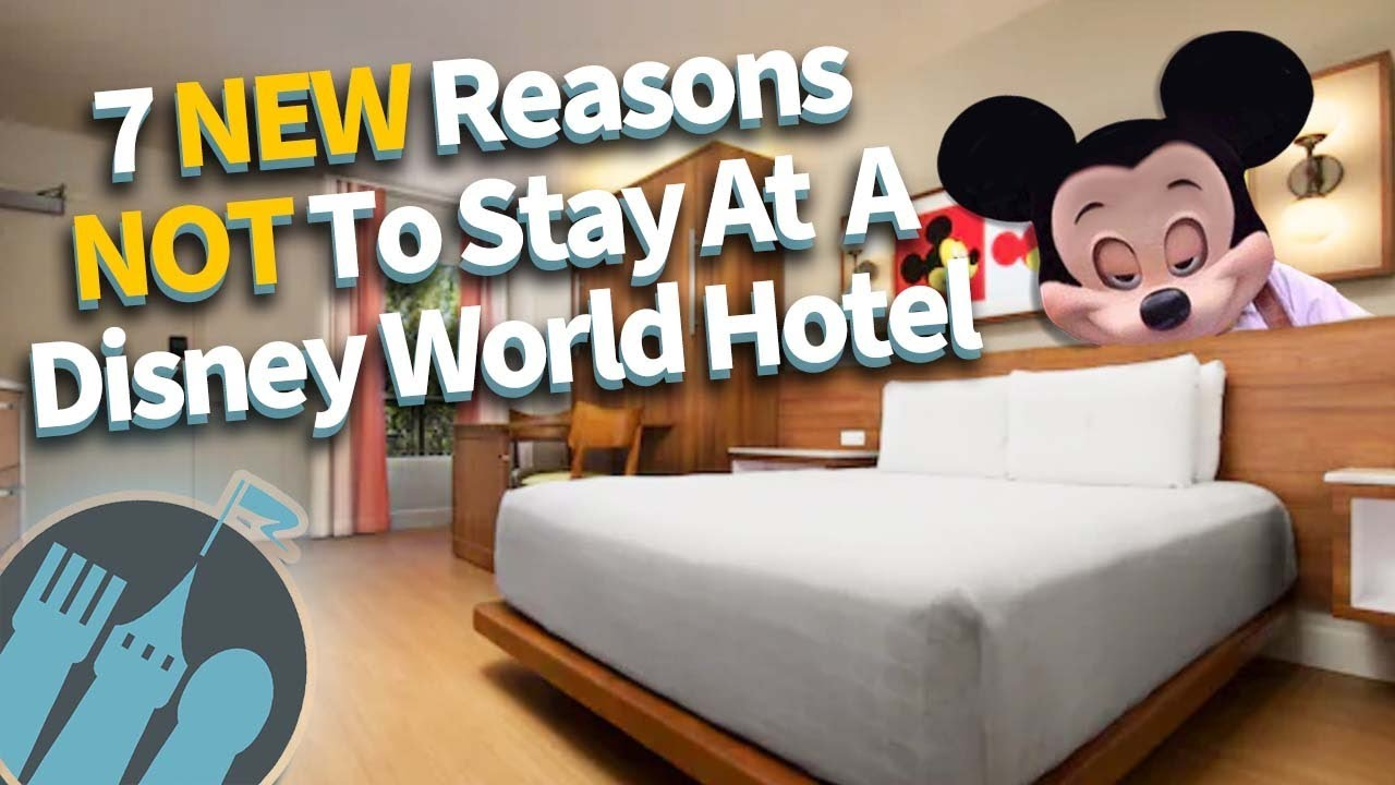 7 New Reasons to NOT Stay at a Disney Hotel