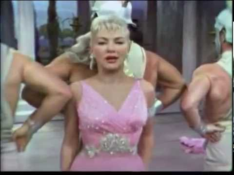 Betty Grable and Muscle Men--Let Me Entertain You, 1959 TV
