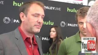 Trey Parker and Matt Stone talk about their show South Park at The Paley Center For Media Presents S