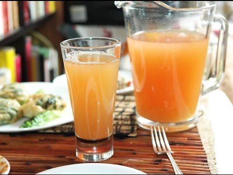 Agua de naranja y limon para adelgazar