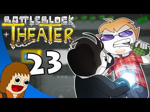 BattleBlock Theater: Frank the Duck Shark - Part 23