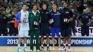 #FIBAU19 - All-Tournament Team highlights