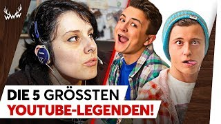 Die 5 GRÖSSTEN YouTube-Legenden! | TOP 5