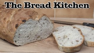 Walnut & Sunflower Seed Bloomer Recipe In The Bread Kitchen