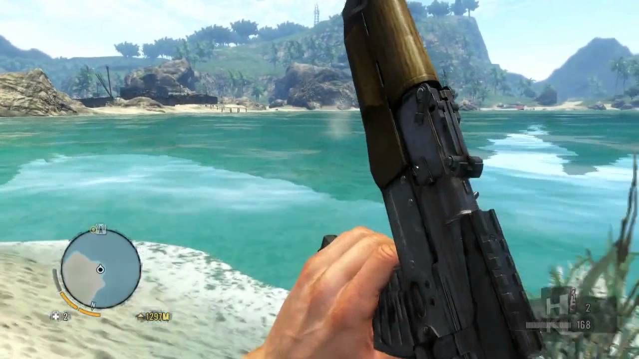 Far Cry 3: Hunting Sharks Made Easy! (How To) - YouTube