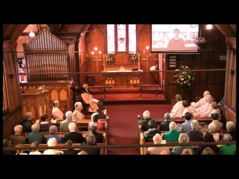 150th Anniversary Service of St Peter's Church, Akaroa, Cant