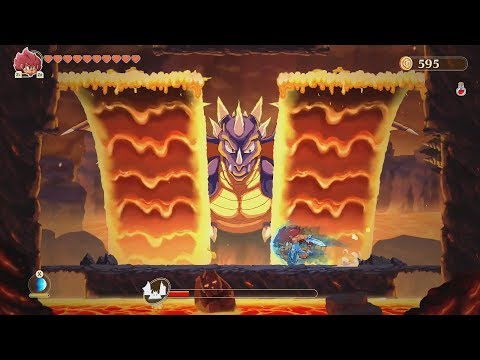 Monster Boy and the Cursed Kingdom Playthrough Part 4 - Conquering Ocean, Volcano, and Sky