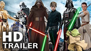 All STAR WARS Movie Trailer (1977 - 2017)