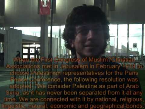 Temple University Debating with Students for Justice in Palestine