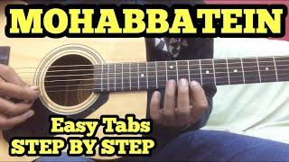 Mohabbatein Guitar Tabs/Lead Lesson by FuZaiL Xiddiqui (FUXiNO)